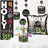 Holy Bleep 30th Birthday Decorations Kit