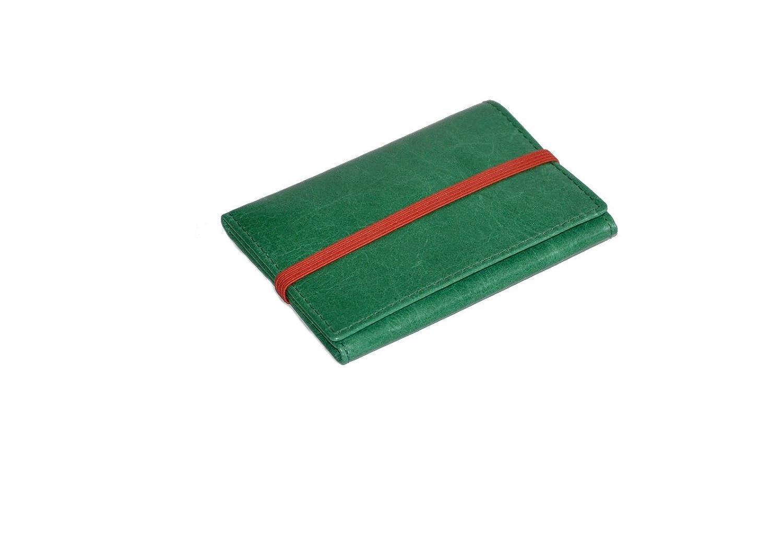 PIAMONTE, 950 Classics, Cartera Verde Esmeralda y Rojo desplegable: Amazon.es: Equipaje