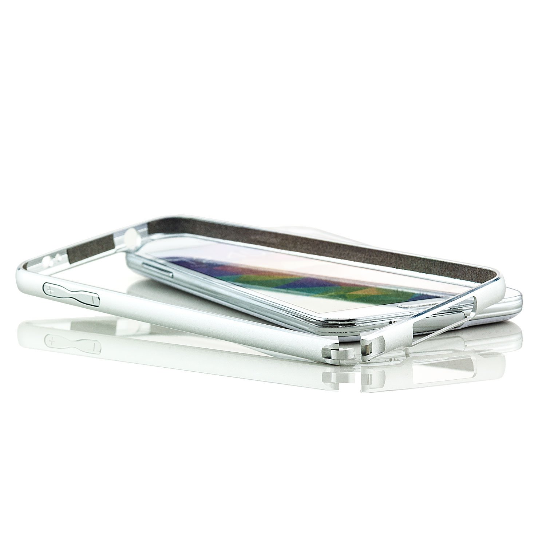 Saxonia. Aluminium Bumper Samsung Galaxy S5 Ultra Slim: Amazon.de ...