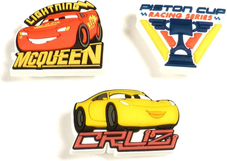 Crocs Cars 3 3-Pack Decoración de zapatos, Multicolor (-), Talla Única