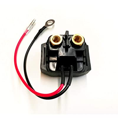 A.A Starter Relay Solenoid for Yamaha 50-225 HP Outboards 68V-8194A-00-00: Automotive