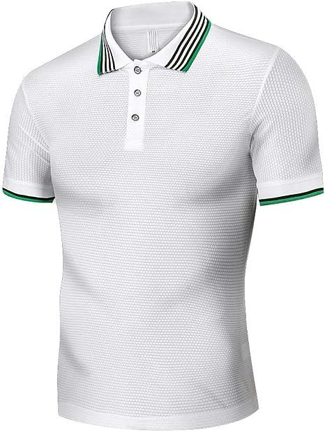 Camisas Hombre Blusa Camisa de Manga Corta Modelo para Hombre Fiesta Trabajo Eventos Importantes Deportivo Camisa Negra Crop Top Camisas Hombre Camisas Manga Corta Hombre Camisa Verde Hombre Jodier: Amazon.es: Deportes y