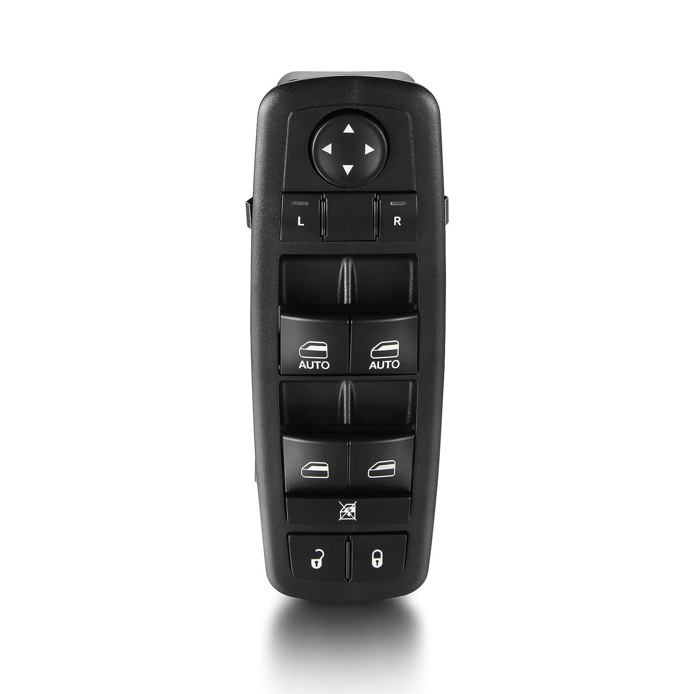 AutoHorizon Power Window Switch For 2012-2016 Chrysler Town /& Country Dodge Grand Caravan Ram 1500 2500 3500 Van Crew Cab Pickup 68110866AA 68110866AB