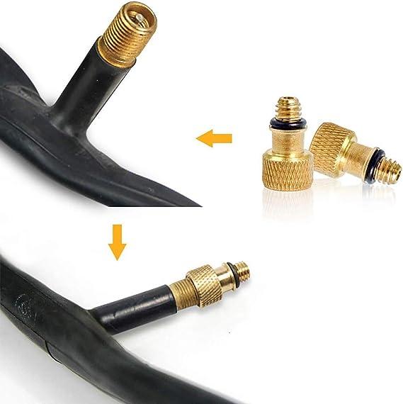TL Sac pour guidon de v/élo pompe de v/élo Gonfleur pour roue avec t/ête adaptable aux valves Presta et Schrader Pack complet pour d/ébuter le cyclisme.