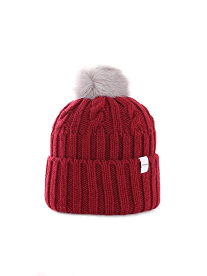 Penn-Rich by Woolrich WYACC0196EY10 CAPPELLO Donna ROSSO M  Amazon ... c20f045bbba1