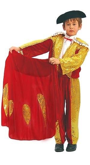 Disfraz de torero (10-12 años): Amazon.es: Juguetes y juegos