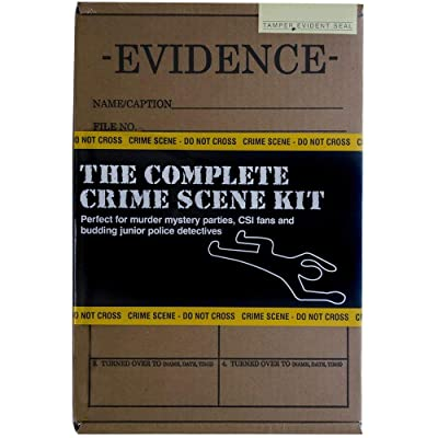 The Complete Crime Scene Kit: Toys & Games