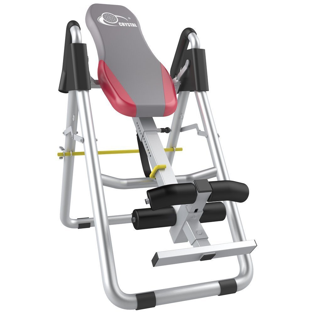 Brand Home Use Sports Equipment Therapy Table Inversion Table Adjustable Therapy Folding Fitness Table Inversion Tables Color Grey