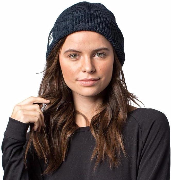 2902f0fd9f2 Krochet Kids Brady Navy Beanie Hat at Amazon Women s Clothing store