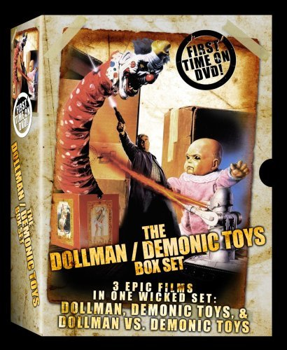 - Dollman Demonic Toys Collection 3 DVD SET