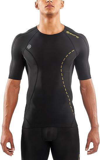 Skins A200 Men/'s Active Compression Short Sleeve Top