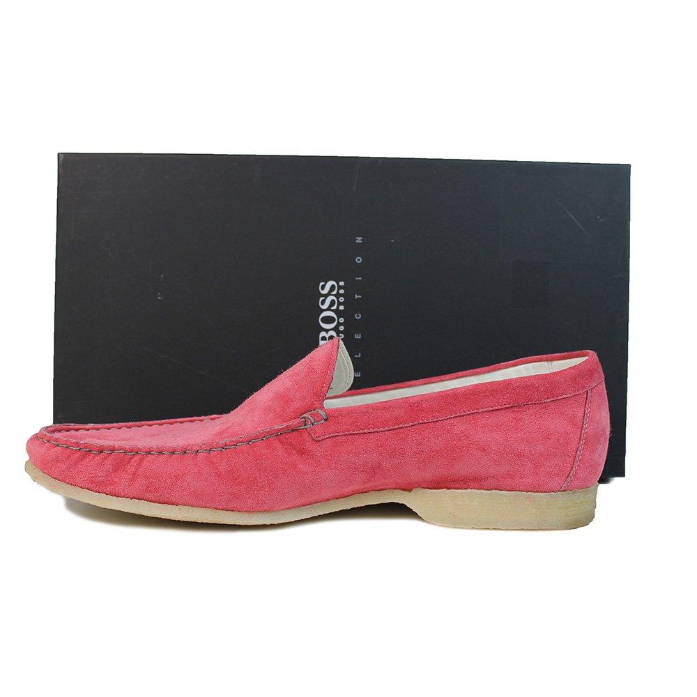 Hugo Boss trenno - Mocasines para Hombre Rosa Rosa: Amazon.es: Zapatos y complementos