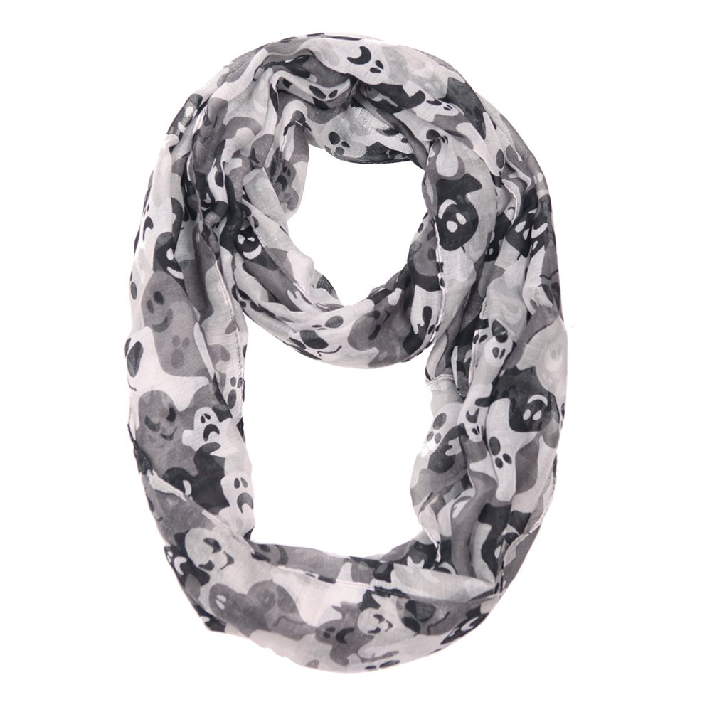 MissShorthair Halloween Infinity Scarf Lightweight Loop Holiday Gift Idea BI2017Xhal-6
