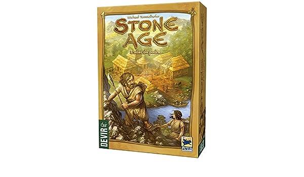 Devir Stone Age, L´edat de Pedra, edición en catalán (BGSTONECAT): Amazon.es: Juguetes y juegos