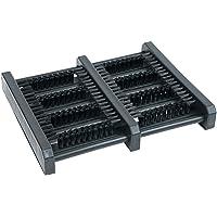 JobSite Flat Mat Boot Scrubber Brush - Wood & High Density Plastic Construction - As Seen On TV