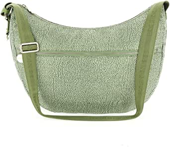 Luxury Fashion | Borbonese Womens 934463X96W81 Green Shoulder Bag | Spring Summer 20