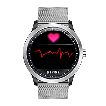 Amazon.com: QEAC Reloj inteligente ECG EKG PPG con ...