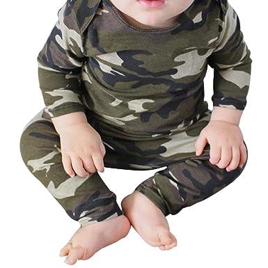 8d99709c04c8 Amazon.com  2PCS Set Newborn Outfits Clothes