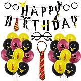Amazon.com: 47 PCS Potter Party Party Balloons harry, Harry ...