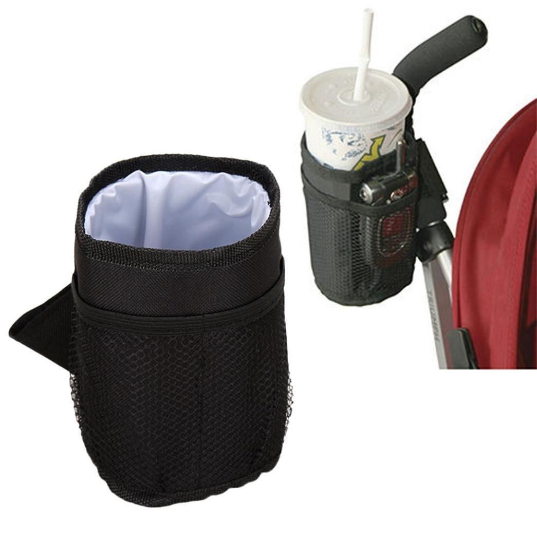 SOthread Portable Baby Stroller Bag Mug Cup Holder Bottle Organizer Storage Box