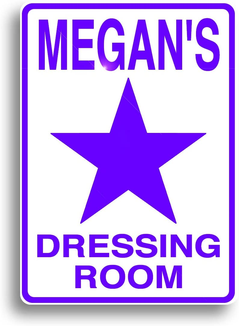 Dressing Room Sign, Personalized for You, and Shipped Out Fast!