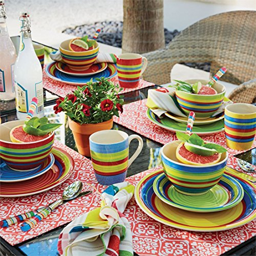 : striped dinnerware sets - pezcame.com
