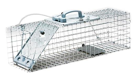 Havahart 1084 Jaula - Trampa Fácil Montaje 1-Puerta para Conejos y ...
