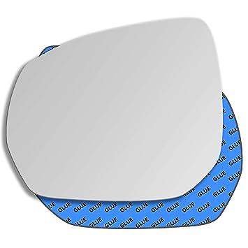 Espejo convexo para lado del pasajero izquierdo de repuesto para Citroen C3 Picasso 2009-2017