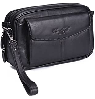 Hebetag Leather Clutch Purse Wallet Phone Organizer Holder Wrist Bag Day  Pack f3cb98e375