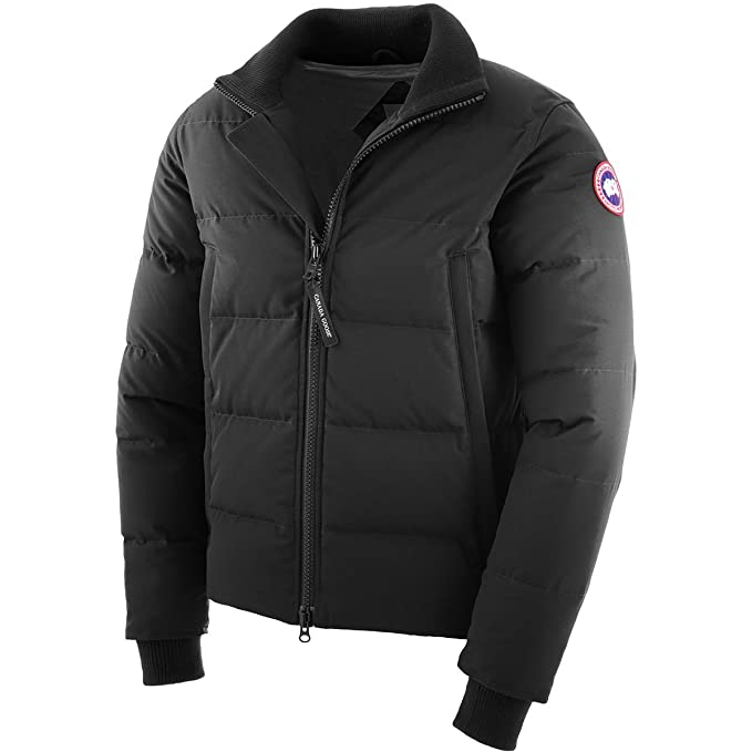 fdbe24312 Canada Goose - Wollford Coat - Men - Black - XXL: Amazon.co.uk: Clothing