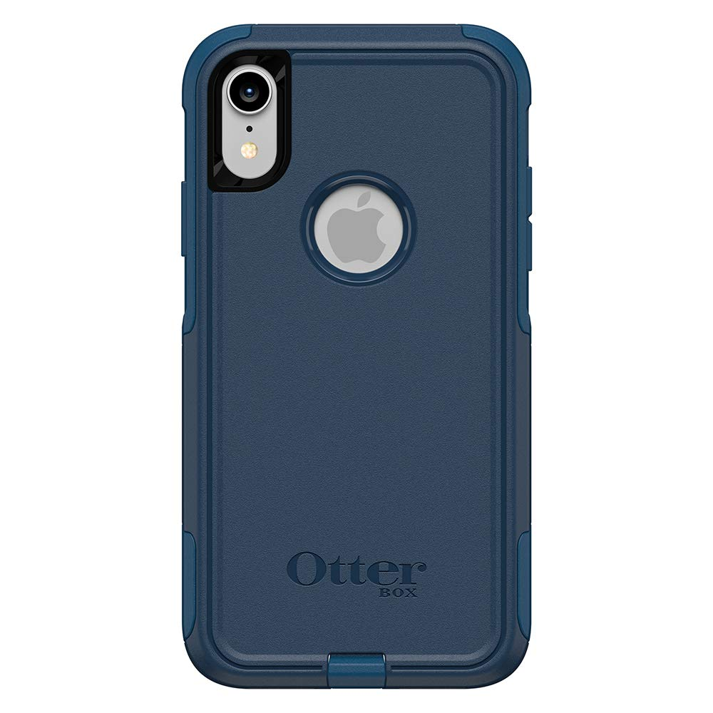 brand new c1b4e 8af76 OtterBox Commuter Series Case for iPhone XR - Retail Packaging - Bespoke  Way (Blazer Blue/Stormy SEAS Blue)