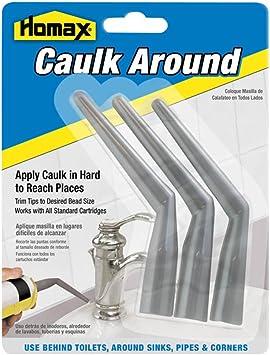 Caulk Around Tips Caulk Applicator 3 Pack