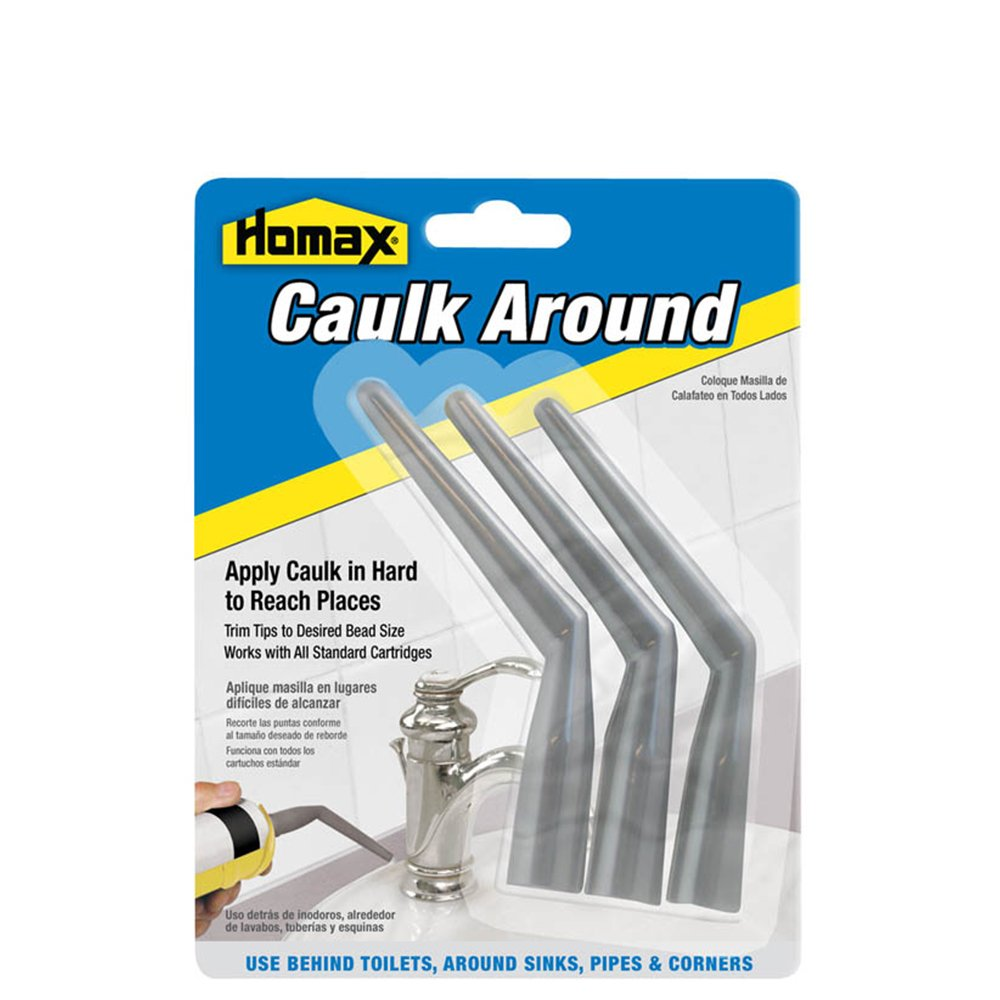 Caulk Around Tips, 3 Pack, Caulk Applicator PPG 041072022835
