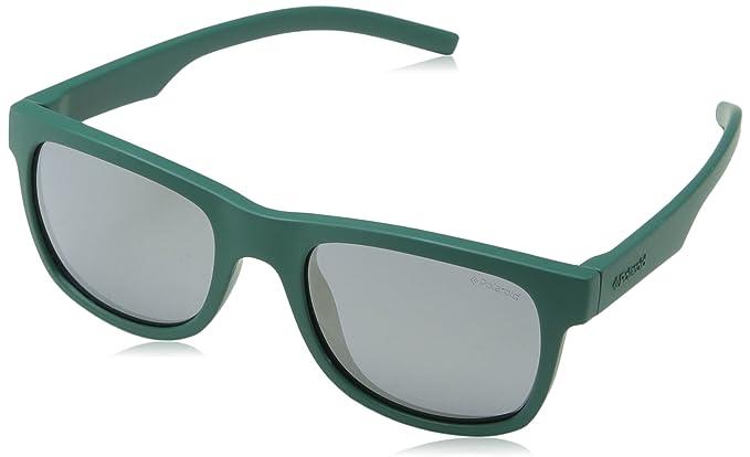 Polaroid PLD 8020/S LM VWA, Gafas de sol Unisex Niños, Verde ...