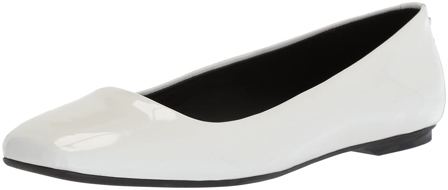 Calvin Klein Women'S Enith Flat Calvin Klein Enith Patent Leather Flats Shoes