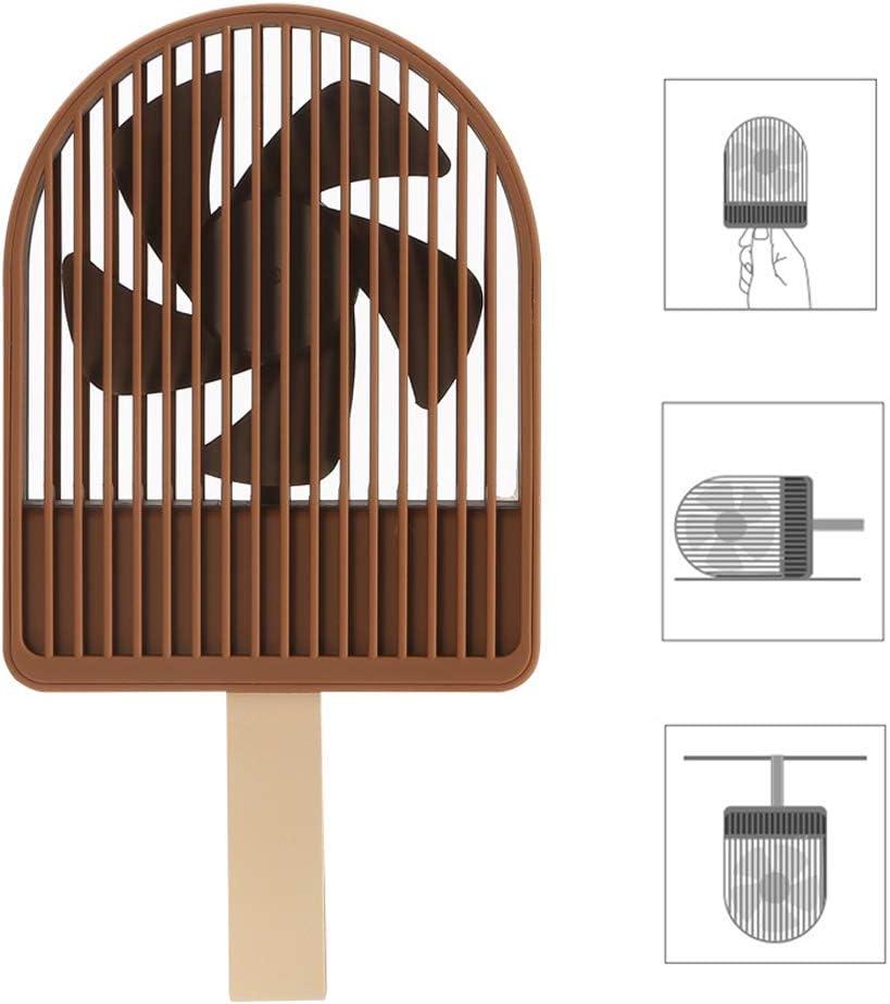 3 Speeds LYTLD Handheld Fan Desk Fan Noiseless USB Fan Cooling Fan Mini Size Desktop Fan for Home Office Outdoor Travel