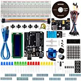 Smraza Basic Starter Kit for Arduino with UNO R3 Board, LCD Module, Jumper