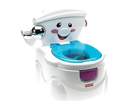 Disegno Bagno Per Bambini : Fisher price la mia prima toilette vasino per bambini con 2 diverse