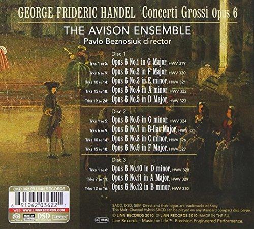 12 Concerti Grossi Op6 Concerto No3 in C minor Full Score A1134