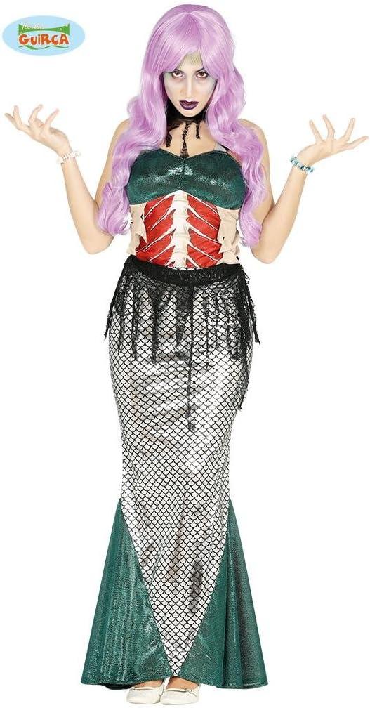 Disfraz de Sirena Zombie para mujer: Amazon.es: Juguetes y juegos