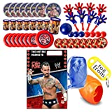 WWE World Wrestling Entertainment (8) Pre-Filled Party Favor Goodie Bags! Perfect For Party Giveaways & Gifts!