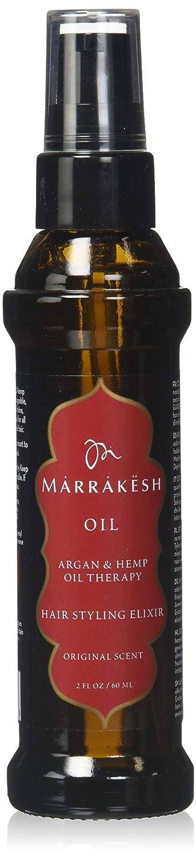 Marrakesh Hair Care Argan and Hemp Styling Oil, 2 Ounce