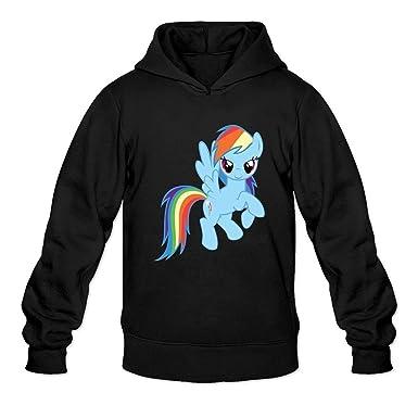 Sweatshirts With Quotes | Amazon Com Peacock Flycro Adult My Little Pony Rainbow Dash Quotes