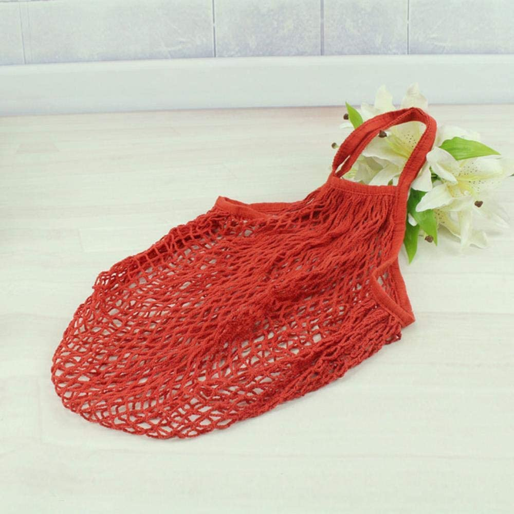 LWL Fruit Shopping String Grocery Shopper Bolso de Red Tejido de ...