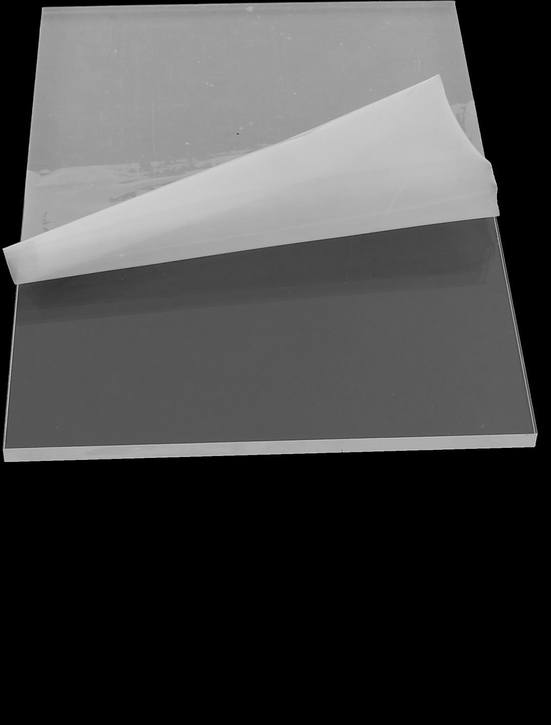 4 mm de pl/ástico transparente de acr/ílico del corte de plexigl/ás Hoja A5 Tama/ño 148mm x 210mm