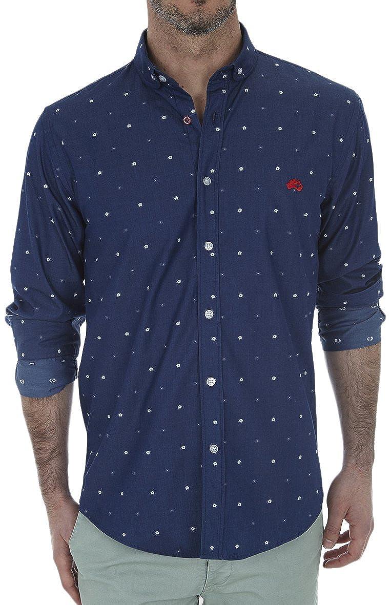 TALLA S. Altonadock Camisa Casual para Hombre