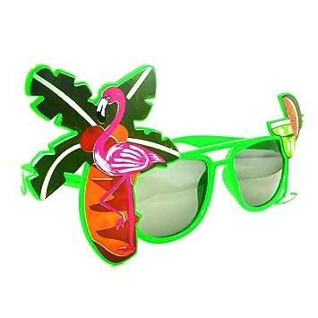 Meisijia Novedad Hawaii de Playa de Gafas de Sol Limón Coco ...