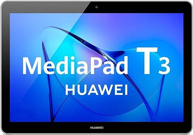 Comprar Huawei Mediapad T3 10 Tablet Wi-Fi, CPU Quad-Core A53, 32 GB, 2 GB de RAM, pantalla de 10 pulgadas, gris