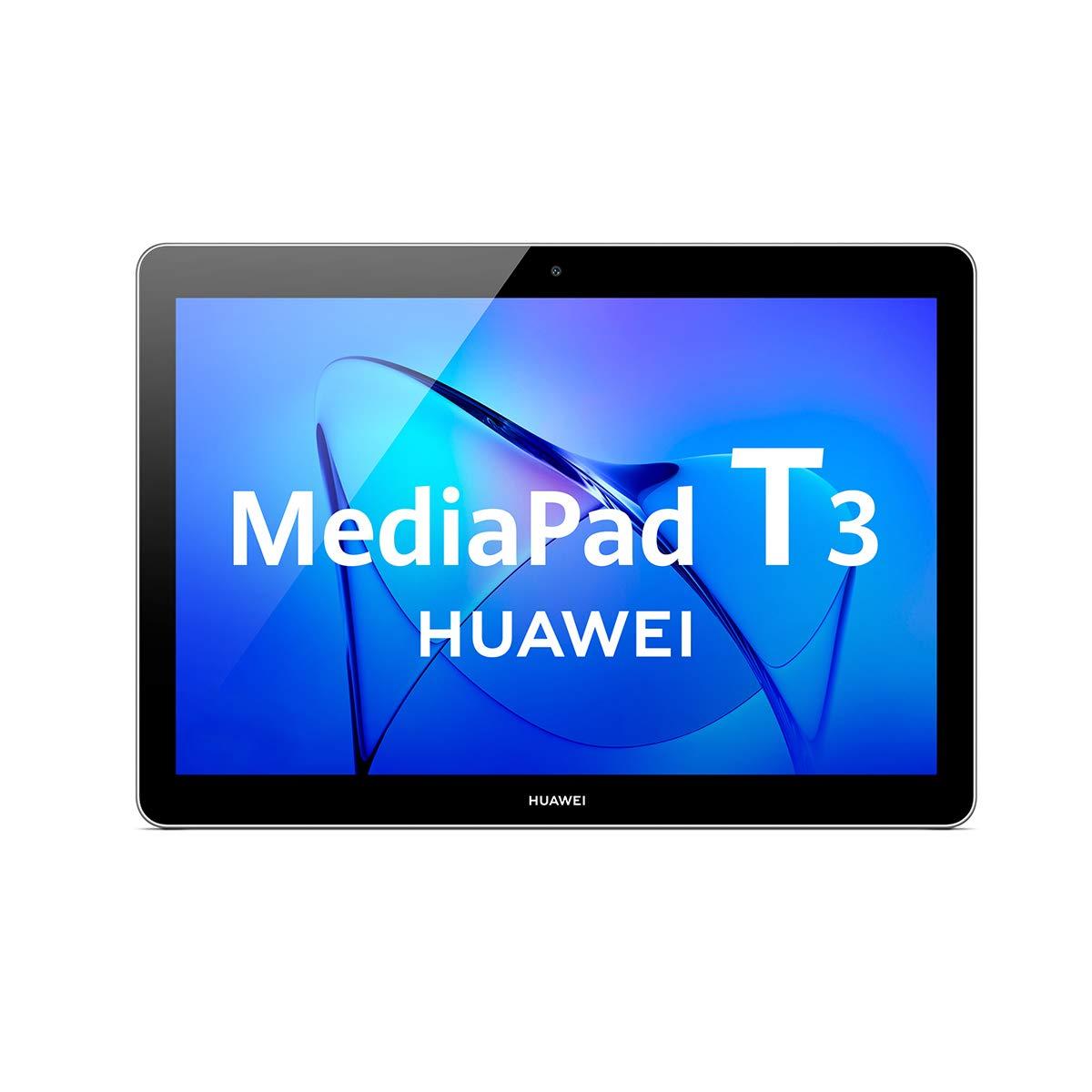 Huawei MediaPad T3WIFI LTE Tablet (High Quality Metal Case Quad Core Processor, 2GB RAM, 16GB Internal Memory, Android EMUI Grey 10 Zoll