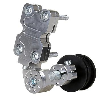 Universal Aluminium Kettenspanner Roller Chain Tensioner Motorrad ATV Werkzeug